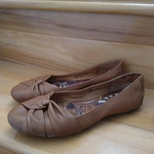 Born brown flats size 8.5